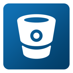 256x256px size png icon of Bitbucket