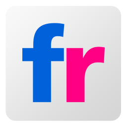 256x256px size png icon of Flickr