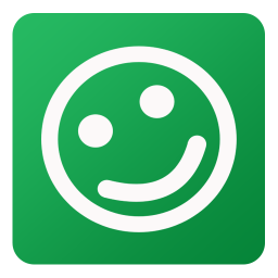 256x256px size png icon of Friendster