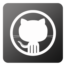 256x256px size png icon of Github