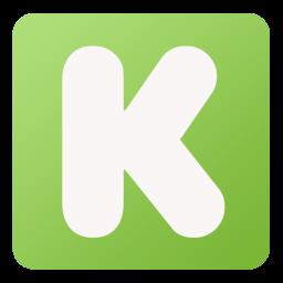 256x256px size png icon of Kickstarter