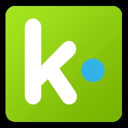 256x256px size png icon of Kik