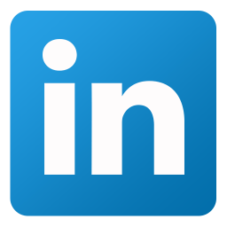256x256px size png icon of Linkedin