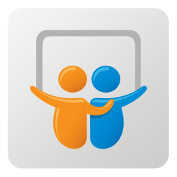 256x256px size png icon of Slideshare