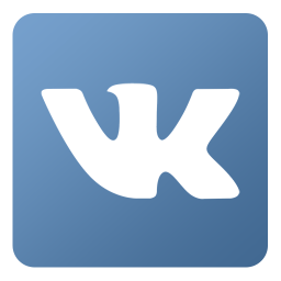 256x256px size png icon of Vk