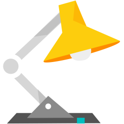 256x256px size png icon of Lamp