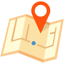 256x256px size png icon of Location