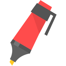 256x256px size png icon of Marker