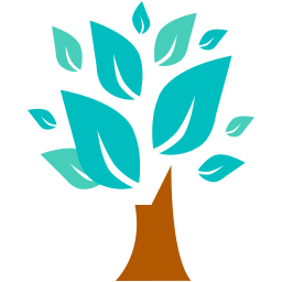 256x256px size png icon of Tree
