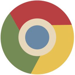 256x256px size png icon of chrome
