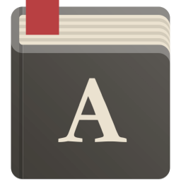 256x256px size png icon of dictionary