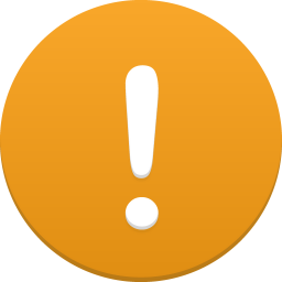 256x256px size png icon of alert