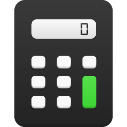 256x256px size png icon of caculator