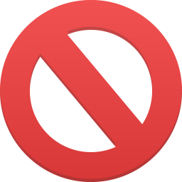 256x256px size png icon of cancel