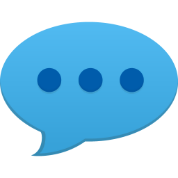 256x256px size png icon of comment