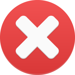 256x256px size png icon of delete 1