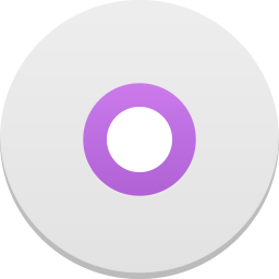 256x256px size png icon of disc