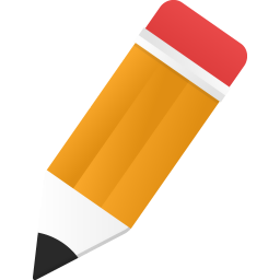 256x256px size png icon of edit