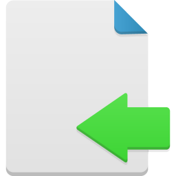 256x256px size png icon of import
