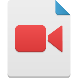 256x256px size png icon of video
