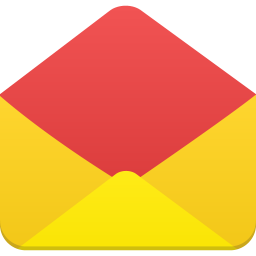 256x256px size png icon of email open