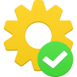 256x256px size png icon of process accept
