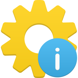 256x256px size png icon of process info