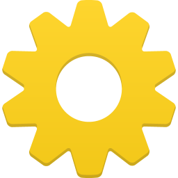 256x256px size png icon of setting
