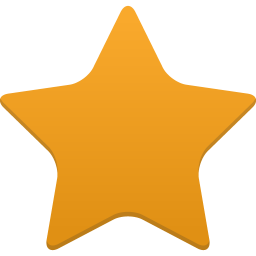 256x256px size png icon of star full