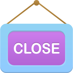 256x256px size png icon of Close