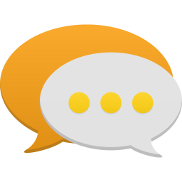 256x256px size png icon of Communication