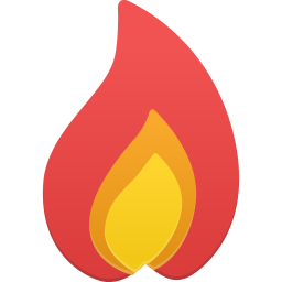 256x256px size png icon of Hot
