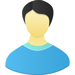 256x256px size png icon of Male