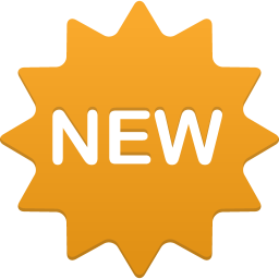 256x256px size png icon of New