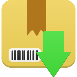 256x256px size png icon of Package download