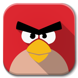256x256px size png icon of Apps angry birds
