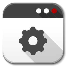 256x256px size png icon of Apps application default