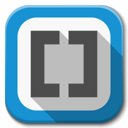 256x256px size png icon of Apps brackets
