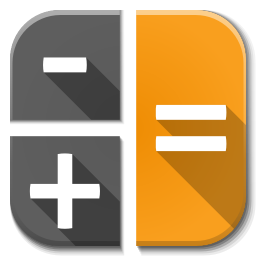 256x256px size png icon of Apps calc