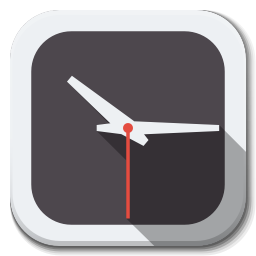 256x256px size png icon of Apps clock B
