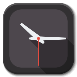 256x256px size png icon of Apps clock C