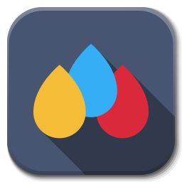 256x256px size png icon of Apps color B