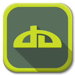 256x256px size png icon of Apps deviantart B