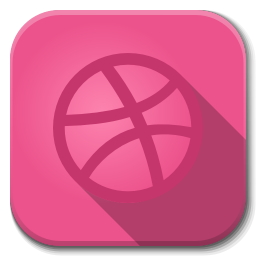 256x256px size png icon of Apps dribble A
