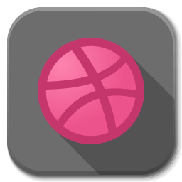 256x256px size png icon of Apps dribble