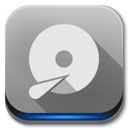 256x256px size png icon of Apps drive harddisk