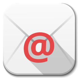 256x256px size png icon of Apps email client
