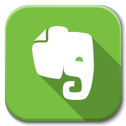 256x256px size png icon of Apps evernote B