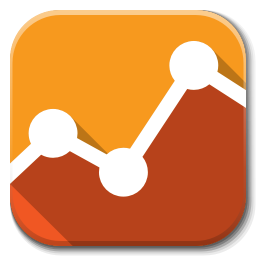 256x256px size png icon of Apps google analytics