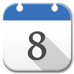 256x256px size png icon of Apps google calendar B